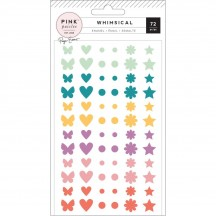 Pink Paislee Paige Evans Whimsical Enamel Dots & Shapes 310729