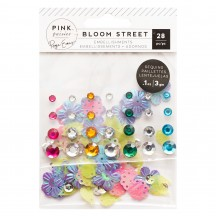 Pink Paislee Paige Evans Bloom Street Mixed Embellishments Sparkle Set 310978