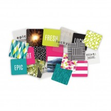 """Heidi Swapp Project Life Definition 4""""x4"""" Cards 312065"""