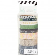 Heidi Swapp Emerson Lane Washi Tape Rolls 314433