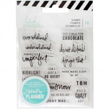Heidi Swapp Memory Planner Day Clear Stamp Set 315131