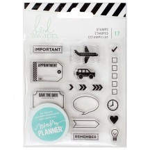 Heidi Swapp Memory Planner Icons Clear Stamp Set 315133
