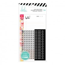 Heidi Swapp Memory Planner Personal Planner To Do Inserts & Stickers 315152