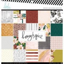 "Heidi Swapp Honey & Spice 12""x12"" Scrapbook Paper Pad 315202"