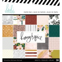 "Heidi Swapp Honey & Spice 6""x6"" Paper Pack 315203"