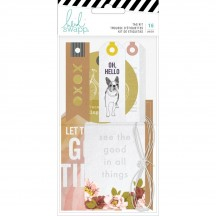 Heidi Swapp Honey & Spice Tag Kit 315212