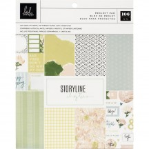 "Heidi Swapp Storyline Chapters The Planner 7.5""x9"" Project Pad 315303"