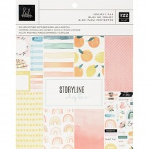 "Heidi Swapp Storyline Chapters The Journaler 7.5""x9"" Project Pad 315309"