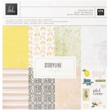 "Heidi Swapp Storyline Chapters 12""x12"" Project Pad 315330"