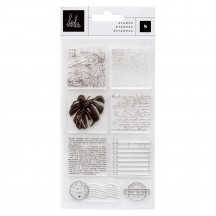 Heidi Swapp Art Walk Texture Clear Stamp Set 315365