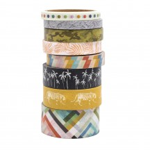 Heidi Swapp Old School Washi Tape Rolls 315539