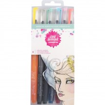 Jane Davenport Mixed Media Mermaid Markers Sunbleached 320742