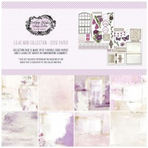 "49 and Market Vintage Artistry Lilac 12""x12"" Collection Pack VAC32693"