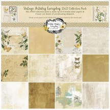 "49 and Market Vintage Artistry Everyday 12""x12"" Collection Pack VAE33270"