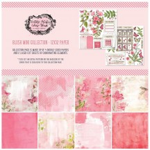 "49 and Market Vintage Artistry Blush 12""x12"" Collection Pack VAC3393"
