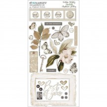 49 and Market Vintage Artistry Essentials Chipboard Stickers VAE33652