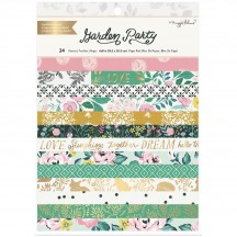 "American Crafts Maggie Holmes Garden Party 6""x8"" Paper Pad 34004894"