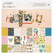 "American Crafts Jen Hadfield Reaching Out 12""x12"" Paper Pad 34005562"