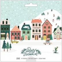 Crate Paper Busy Sidewalks Christmas Sticker Book 34010599