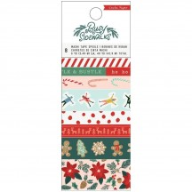 Crate Paper Busy Sidewalks Christmas Washi Tape Rolls 34010601