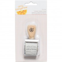 American Crafts Amy Tangerine Finders Keepers Rotary Phrase Stamp 340260