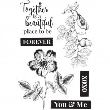 Kaisercraft Everlasting Clear Stamp Set CS342
