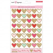 Crate Paper Main Squeeze Waterfall Valentine Sticker Pack 343988