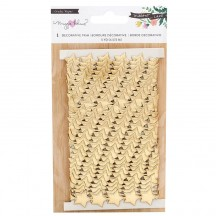 Crate Paper Maggie Holmes Willow Lane Gold Stars Trim 344476