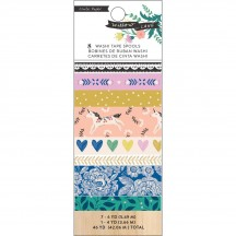 Crate Paper Maggie Holmes Willow Lane Washi Tape Rolls 344480