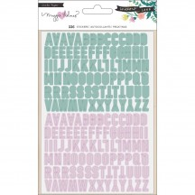 Crate Paper Maggie Holmes Willow Lane Small Alpha Sticker Pack 344481