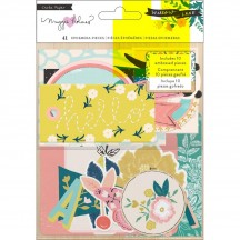 Crate Paper Maggie Holmes Willow Lane Ephemera Die-Cut Cardstock Embellishments 344486
