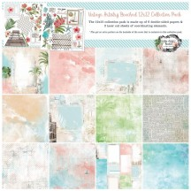 """49 and Market Vintage Artistry Beached 12""""x12"""" Collection Pack VTB-34468"""