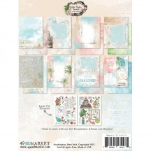 """49 and Market Vintage Artistry Beached 6""""x8"""" Collection Pack VTB-34475"""