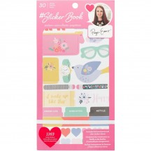 American Crafts Paige Evans Sticker Book Value Pack 344867