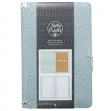 American Crafts Kelly Creates Teal Practice Journal 346411