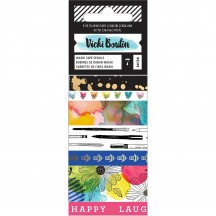 American Crafts Vicki Boutin Field Notes Washi Tape Rolls 346547