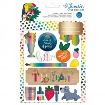 American Crafts Shimelle Box Of Crayons Stickers, Washi Tape & Folder 346613