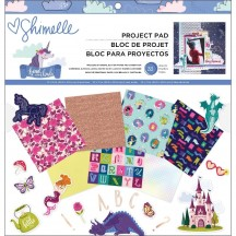 "American Crafts Shimelle Head In The Clouds 12""x12"" Project Pad 349470"