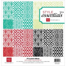 "Echo Park Style Essentials 34th Street 12""x12"" Collection Kit SES13016"
