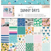 "Crate Paper Maggie Holmes Sunny Days 12""x12"" Paper Pad 350806"
