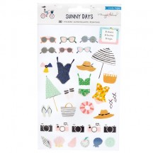 Crate Paper Maggie Holmes Sunny Days Clear Sticker Book 350807
