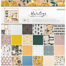 "Crate Paper Maggie Holmes Heritage 12""x12"" Paper Pad 350957"