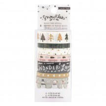 Crate Paper Snowflake Washi Tape Rolls 350987