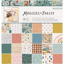 "Crate Paper Magical Forest 12""x12"" Paper Pad 351008"