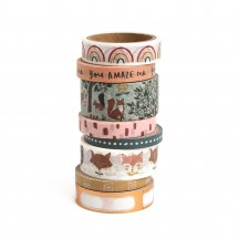 Crate Paper Magical Forest Washi Tape Rolls 351019
