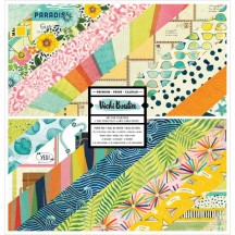 "American Crafts Vicki Boutin Let's Wander 12""x12"" Paper Pad 24 Sheets 355314"