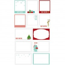American Crafts Be Merry Frost Photo Overlays 368930