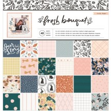 "Crate Paper Fresh Bouquet 12""x12"" Paper Pad 373172"