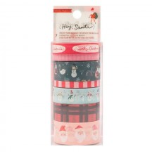 Crate Paper Hey Santa Christmas Washi Tape Rolls 373219