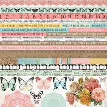 "Kaisercraft Scrap Studio 12""x12"" Sticker Sheet SS374"